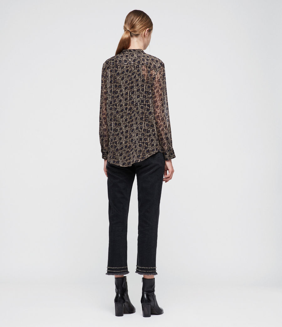 Mujer Cada Flux Shirt (sand_brown) - Image 4
