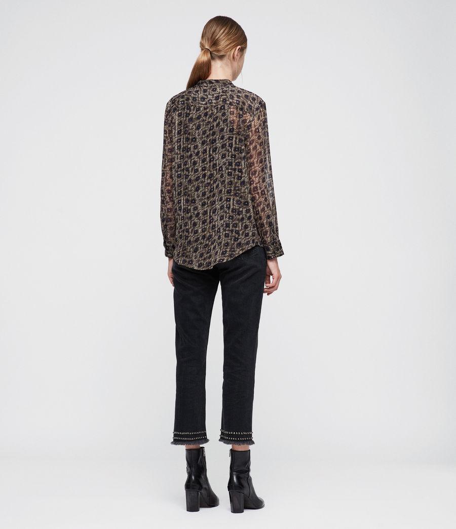 Womens Cada Flux Shirt (sand_brown) - Image 4