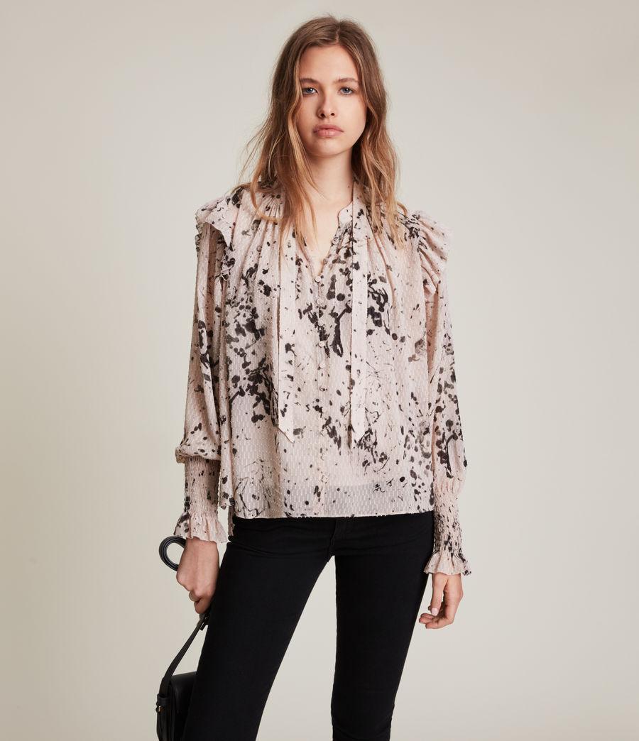 Womens Lara Portland Shirt (pink) - Image 1