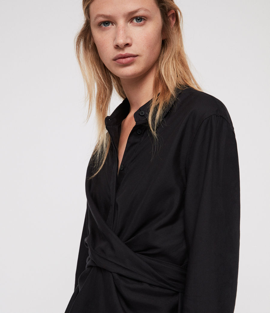 Women's Flyn Shirt (black) - Image 3