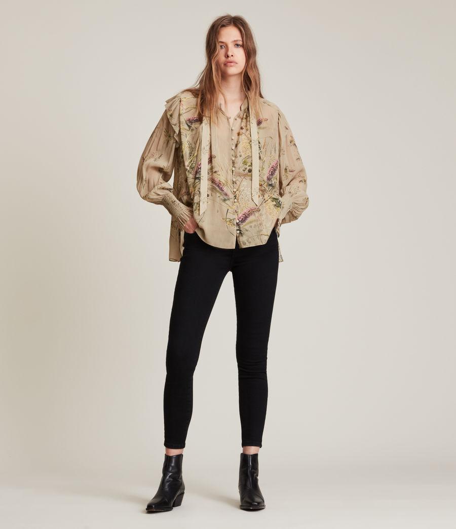 Women's Lara Caledonian Shirt (khaki_green) - Image 3