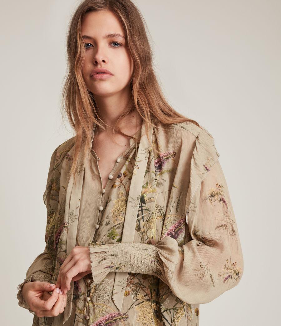 Women's Lara Caledonian Shirt (khaki_green) - Image 4