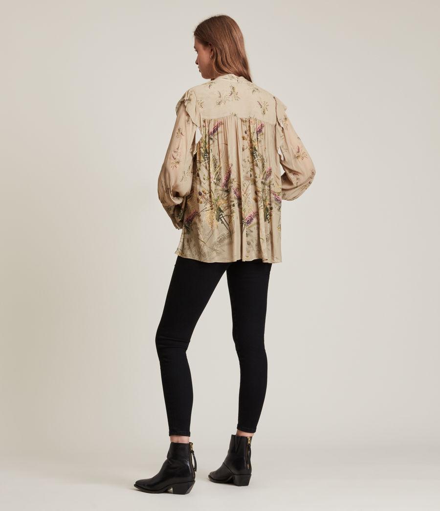 Women's Lara Caledonian Shirt (khaki_green) - Image 6
