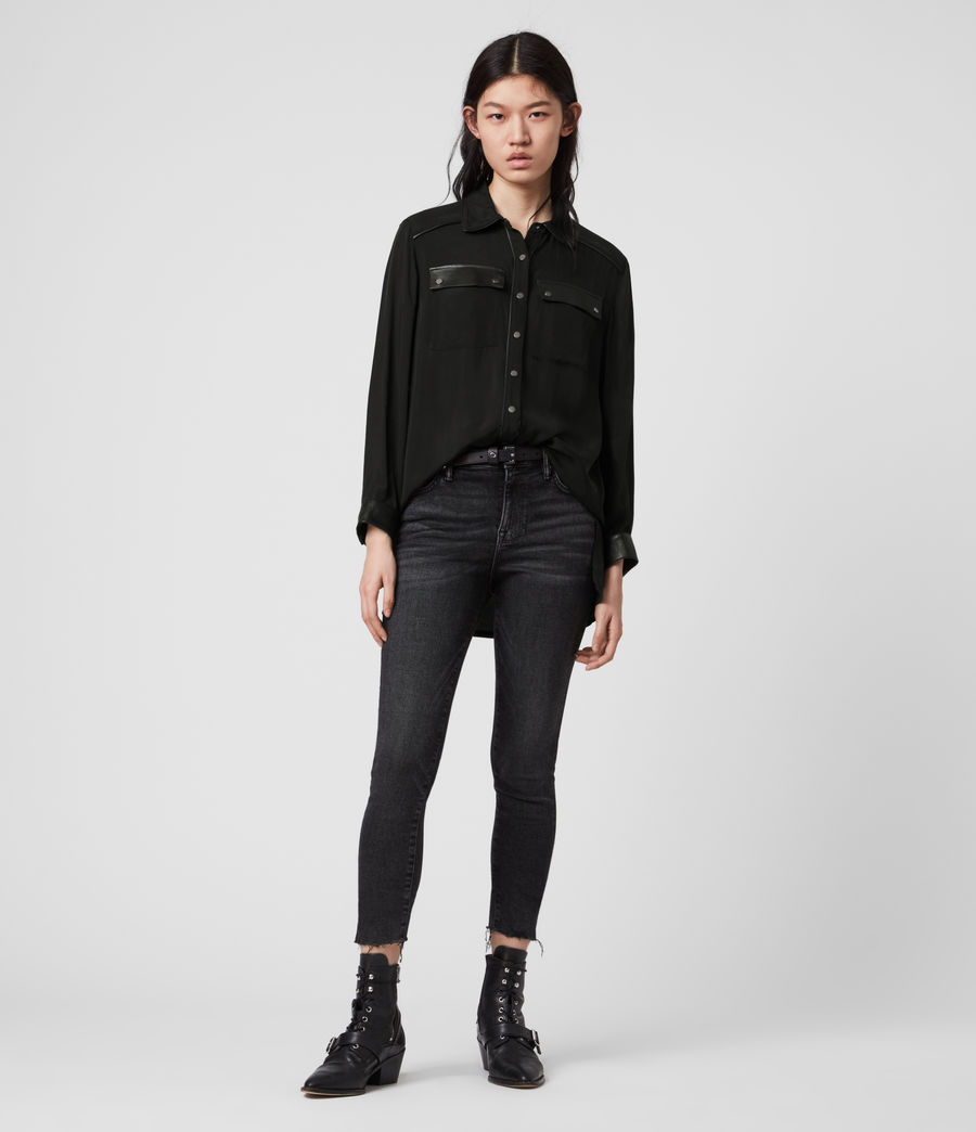 Mujer Esther Lea Shirt (black) - Image 3