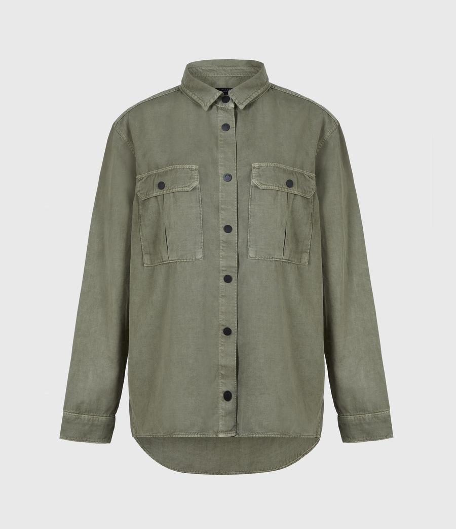 Damen Blair Military Hemd (khaki_green) - Image 2