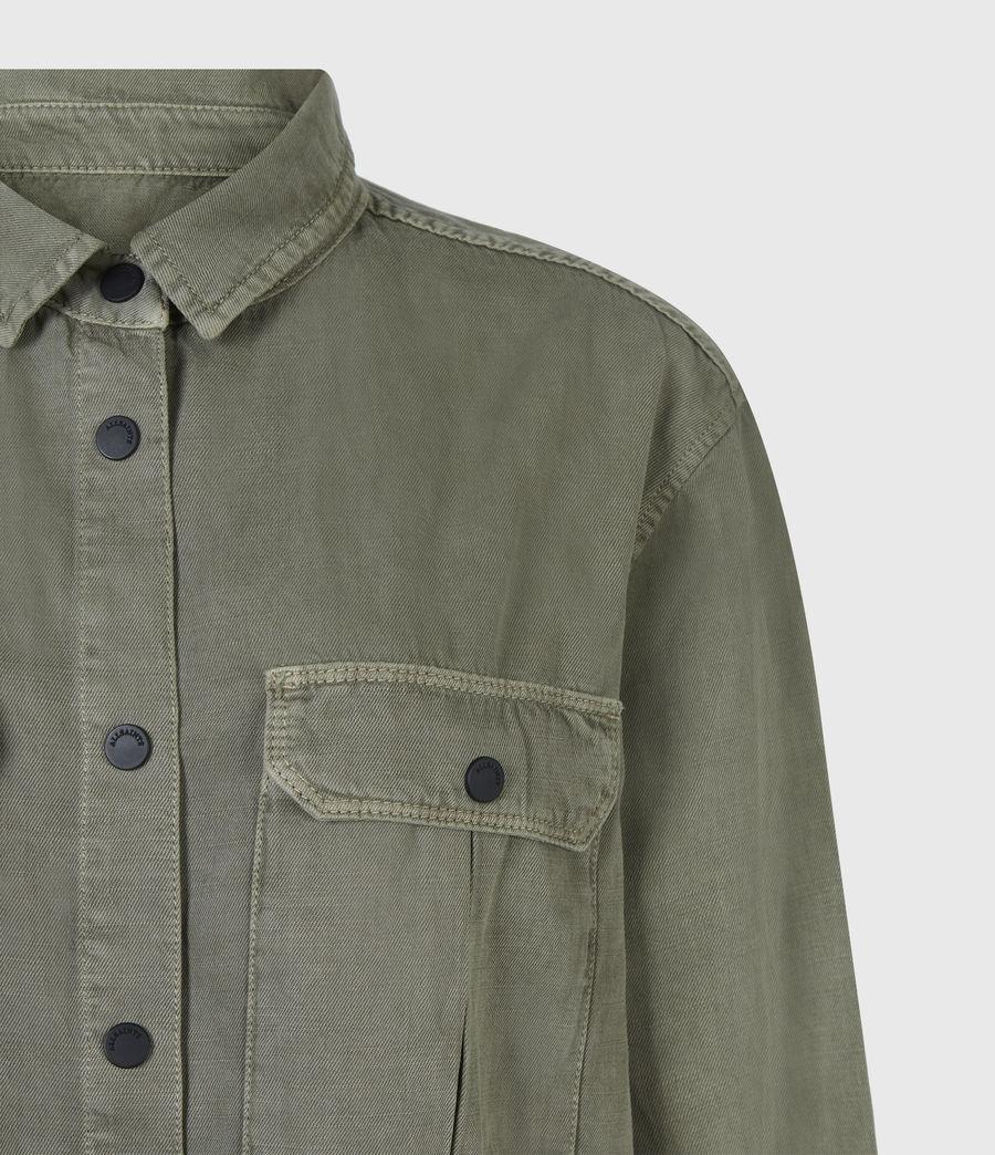 Damen Blair Military Hemd (khaki_green) - Image 5