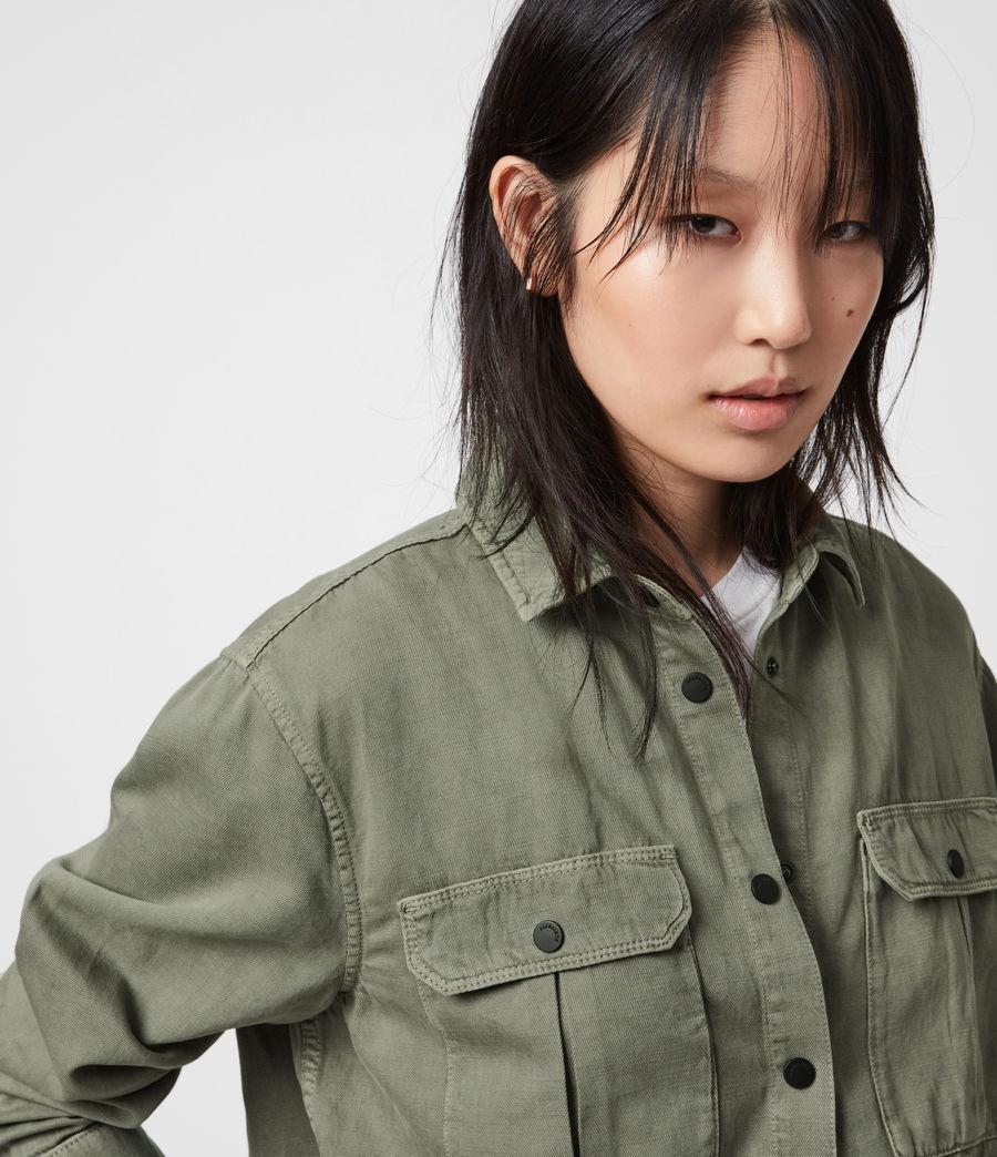Damen Blair Military Hemd (khaki_green) - Image 7