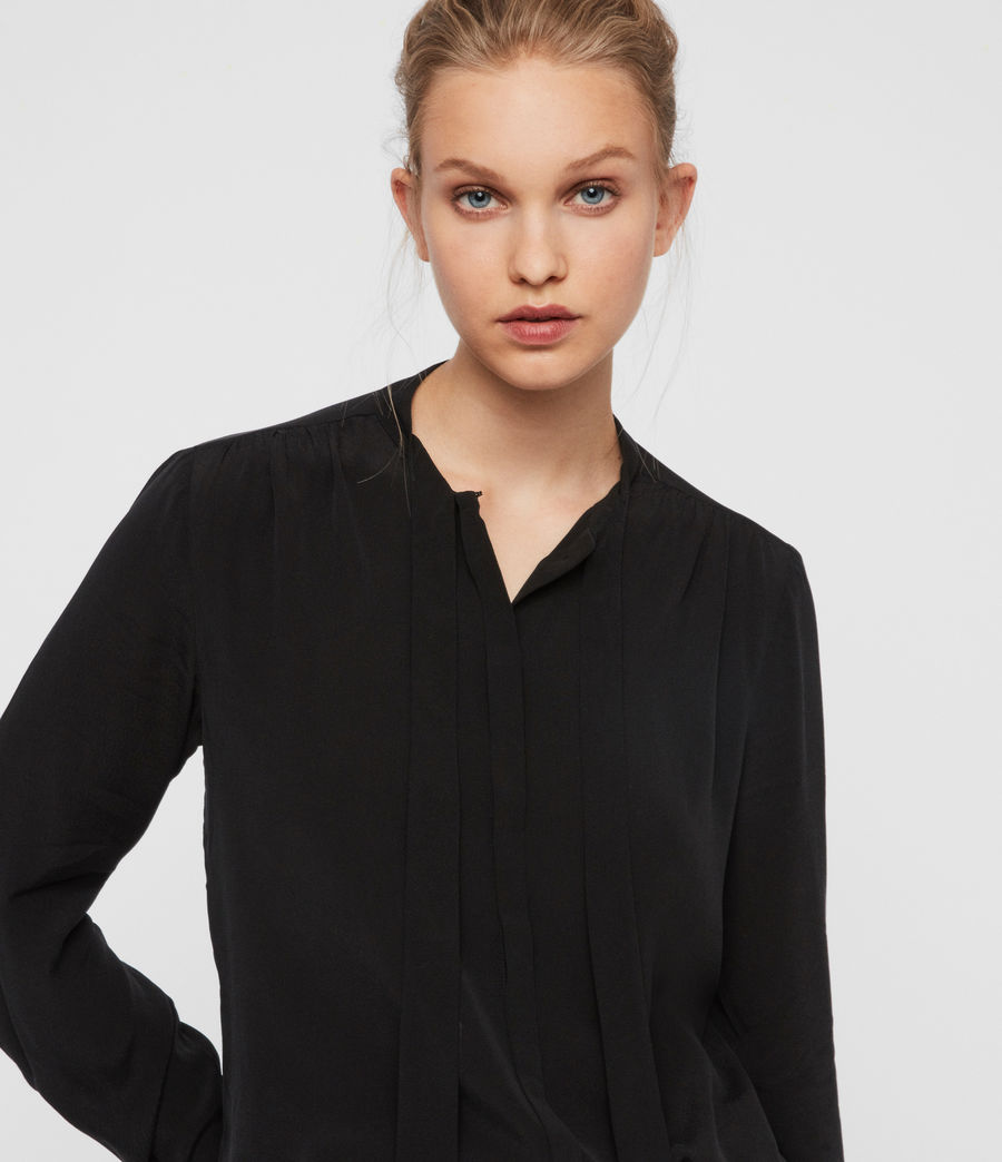 Women's Toni Shirt (black) - Image 1