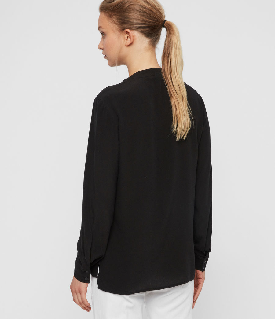 Women's Toni Shirt (black) - Image 6