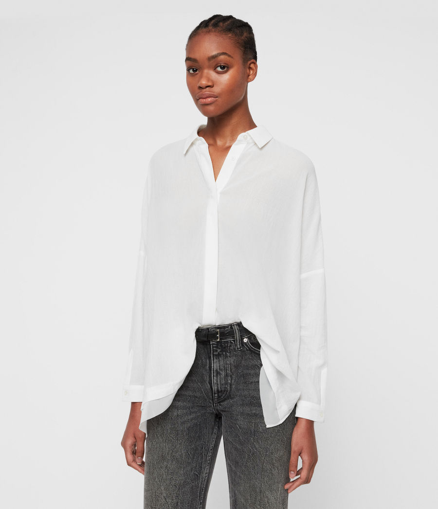 Women's Katia Shirt (chalk_white) - Image 1