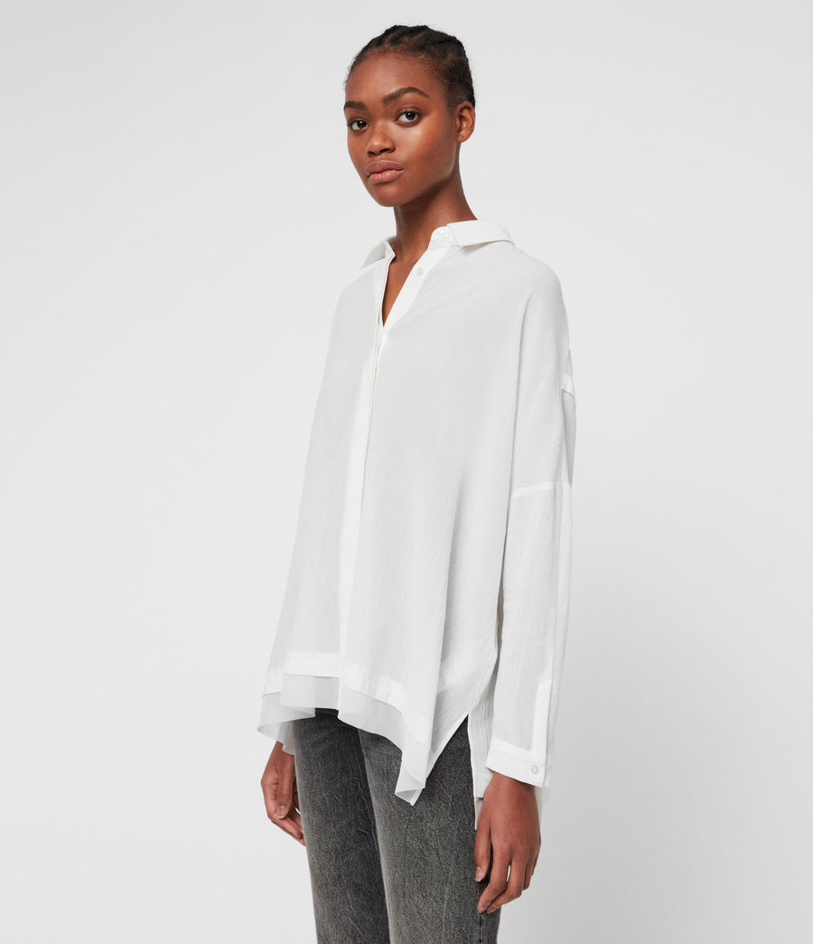 Women's Katia Shirt (chalk_white) - Image 4