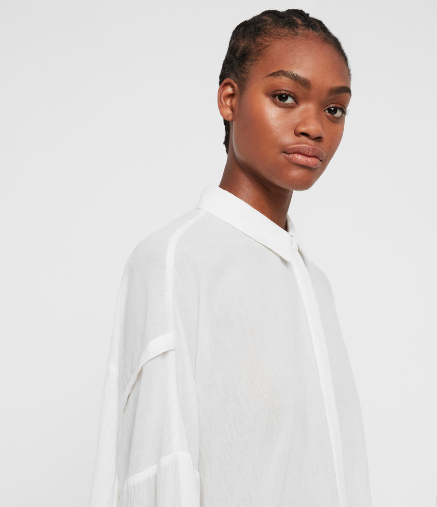 Women's Katia Shirt (chalk_white) - Image 5