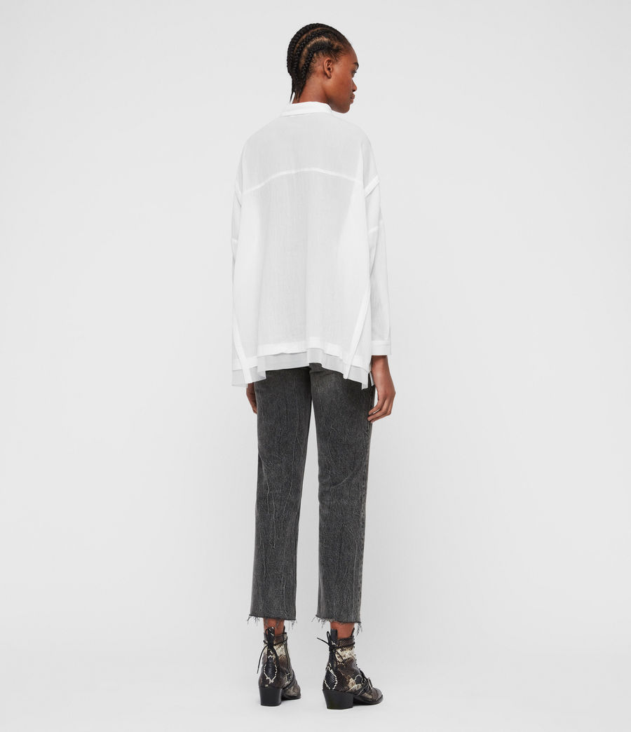 Women's Katia Shirt (chalk_white) - Image 6