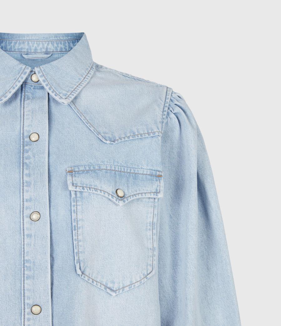 Damen Veela Shirt Bodysuit (light_indigo) - Image 5