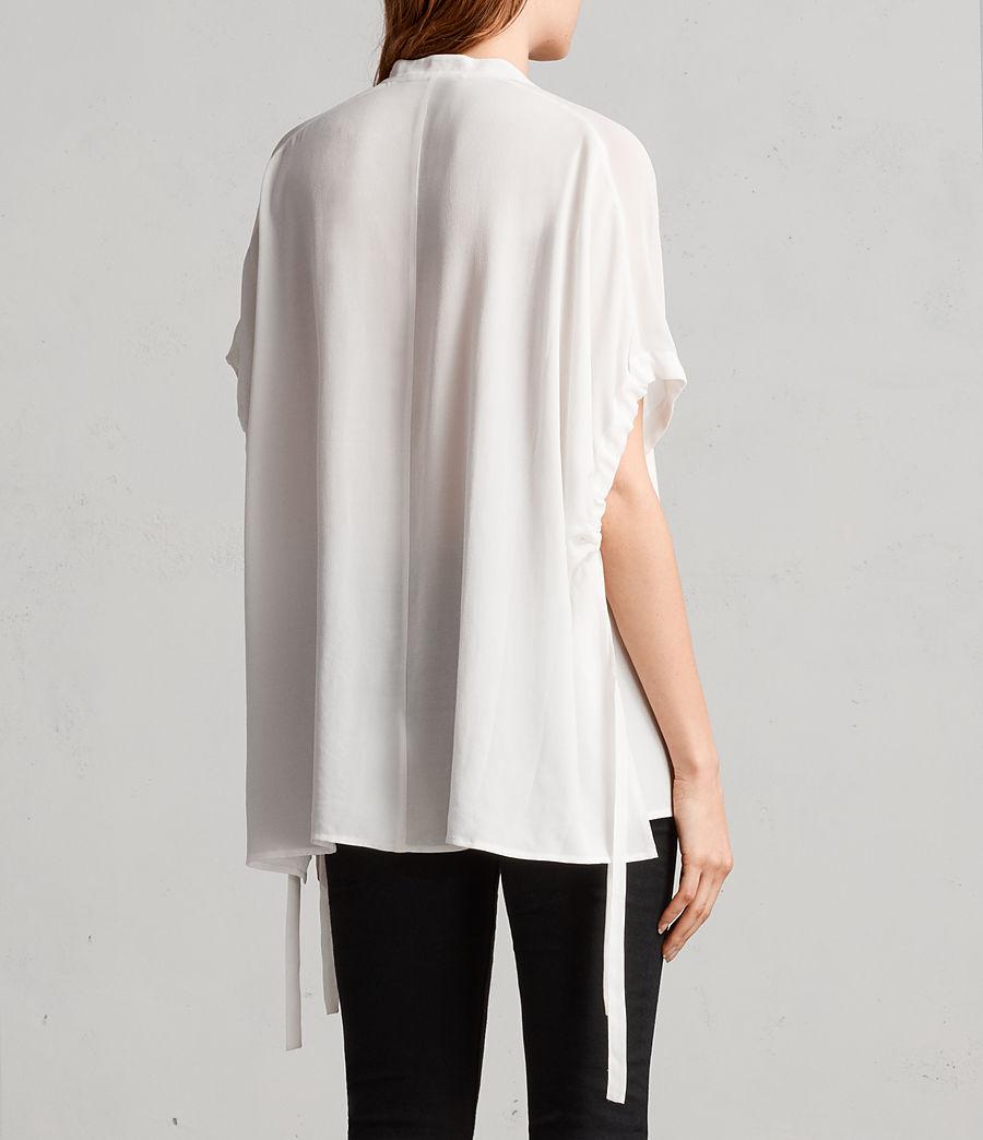 Womens Arlesa Shirt (chalk_white) - Image 4
