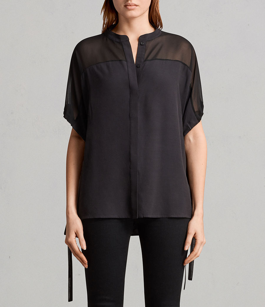 Womens Arlesa Shirt (black) - Image 1