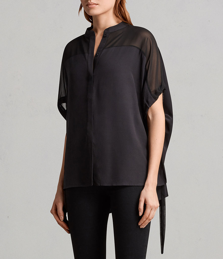 Womens Arlesa Shirt (black) - Image 3