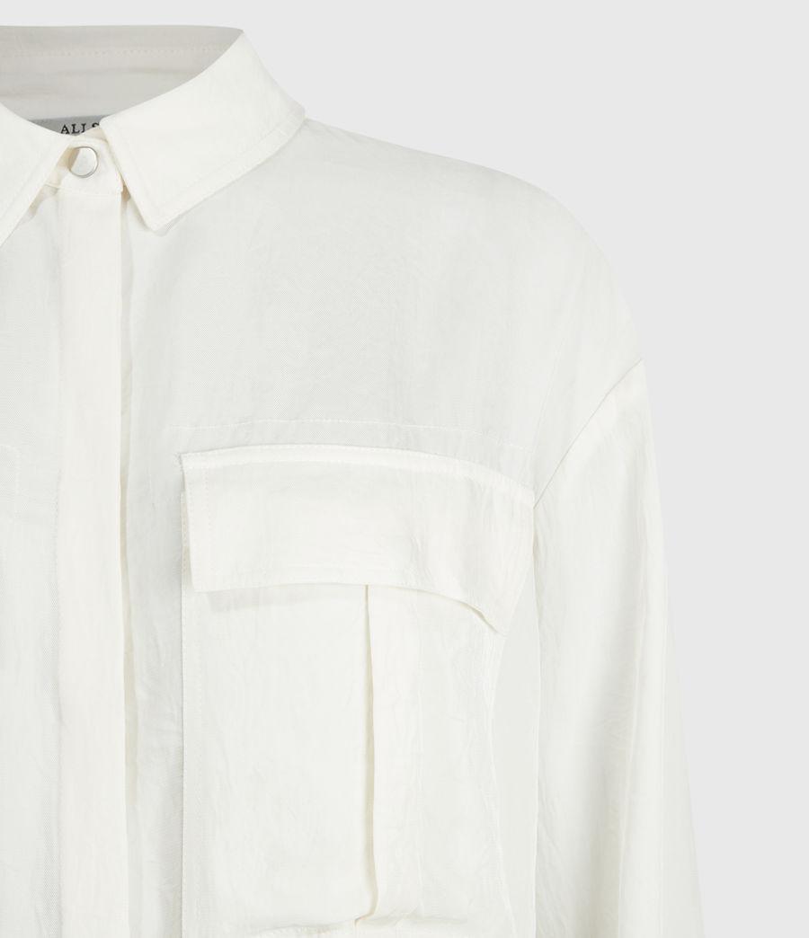 Womens Esme Shirt (ecru_white) - Image 4