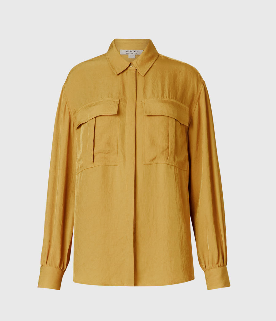 Women's Esme Shirt (pear_green) - Image 1