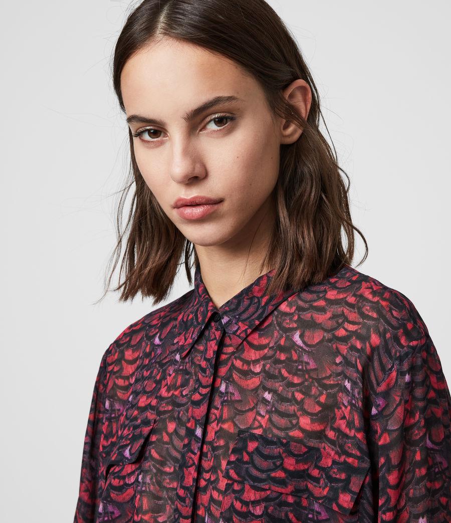 Women's Adeliza Plume Shirt (pink) - Image 2