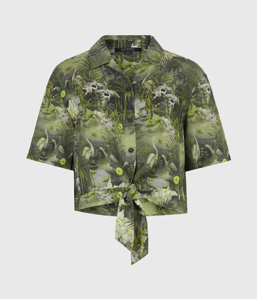 Damen Leni Rejuvenate Hemd (green) - Image 2