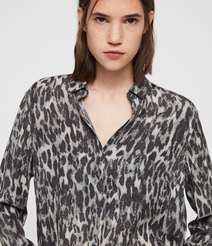 Mujer Keri Leopard Shirt (ash_grey) - Image 2