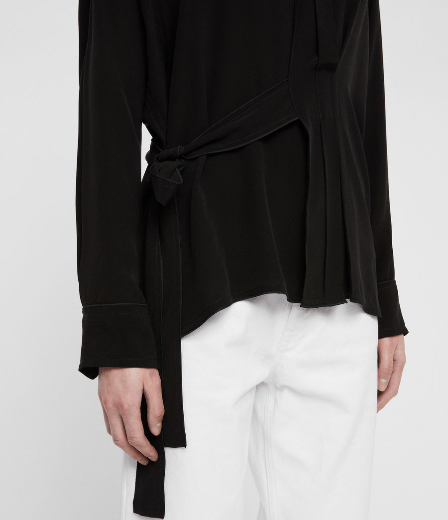 Womens Josi Shirt (black) - Image 2
