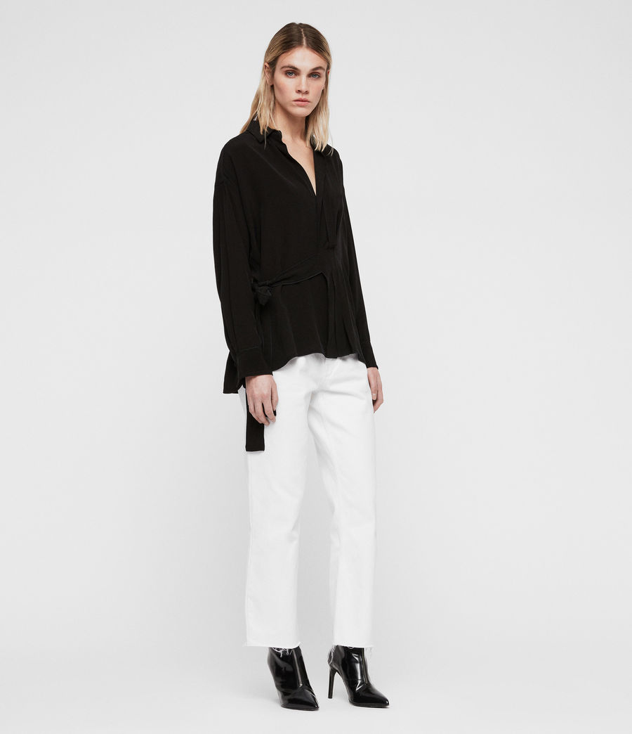 Womens Josi Shirt (black) - Image 3