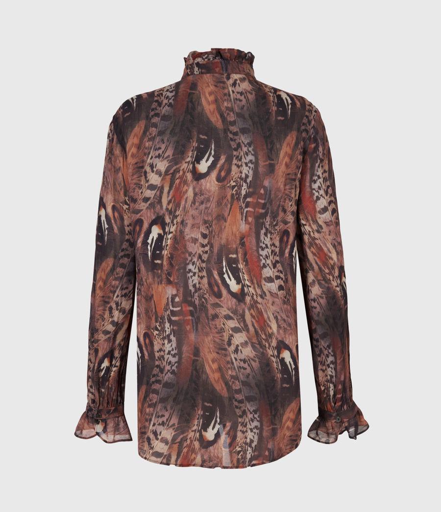 Damen Louise Fusion Hemd (brown) - Image 3