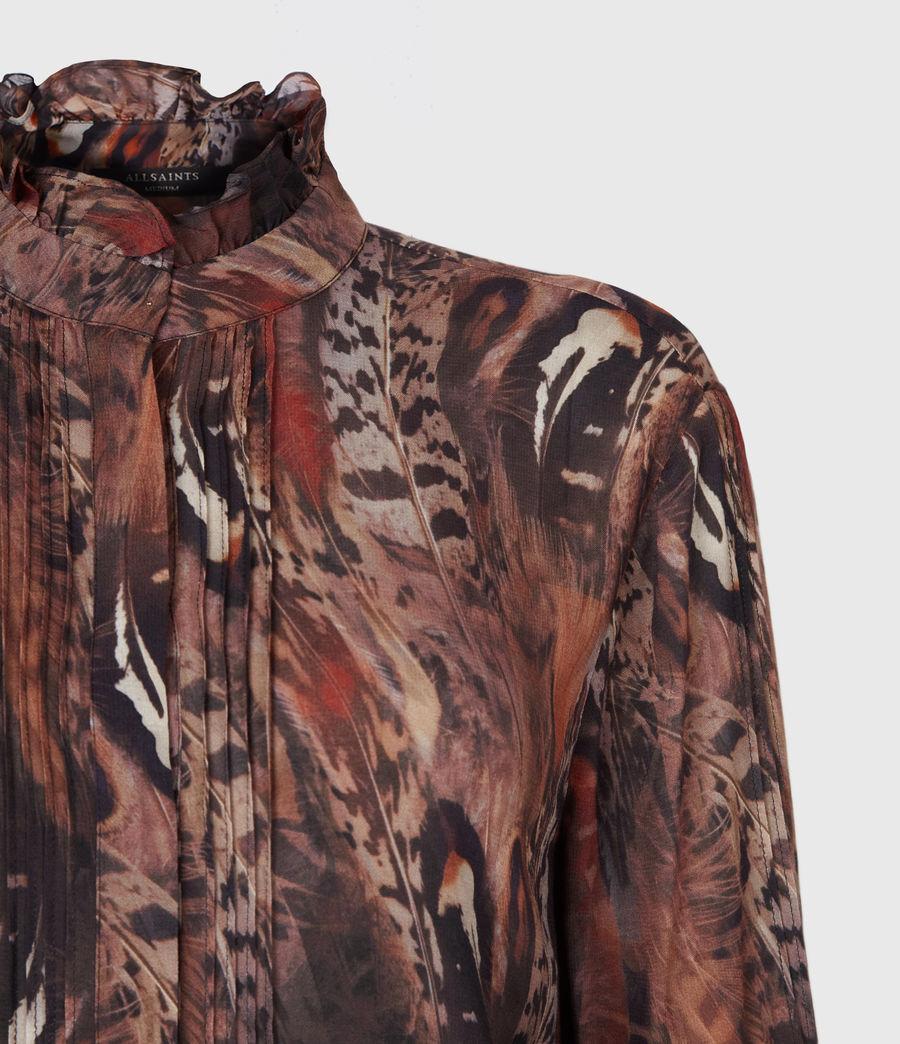 Damen Louise Fusion Hemd (brown) - Image 4