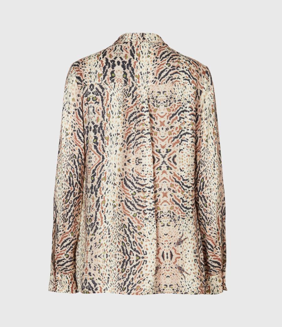 Womens Toni Arietta Shirt (ecru_white) - Image 3
