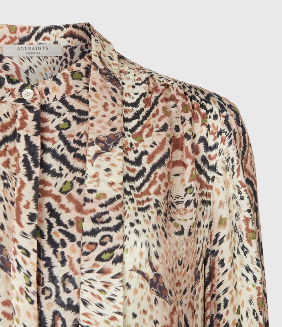 Womens Toni Arietta Shirt (ecru_white) - Image 5