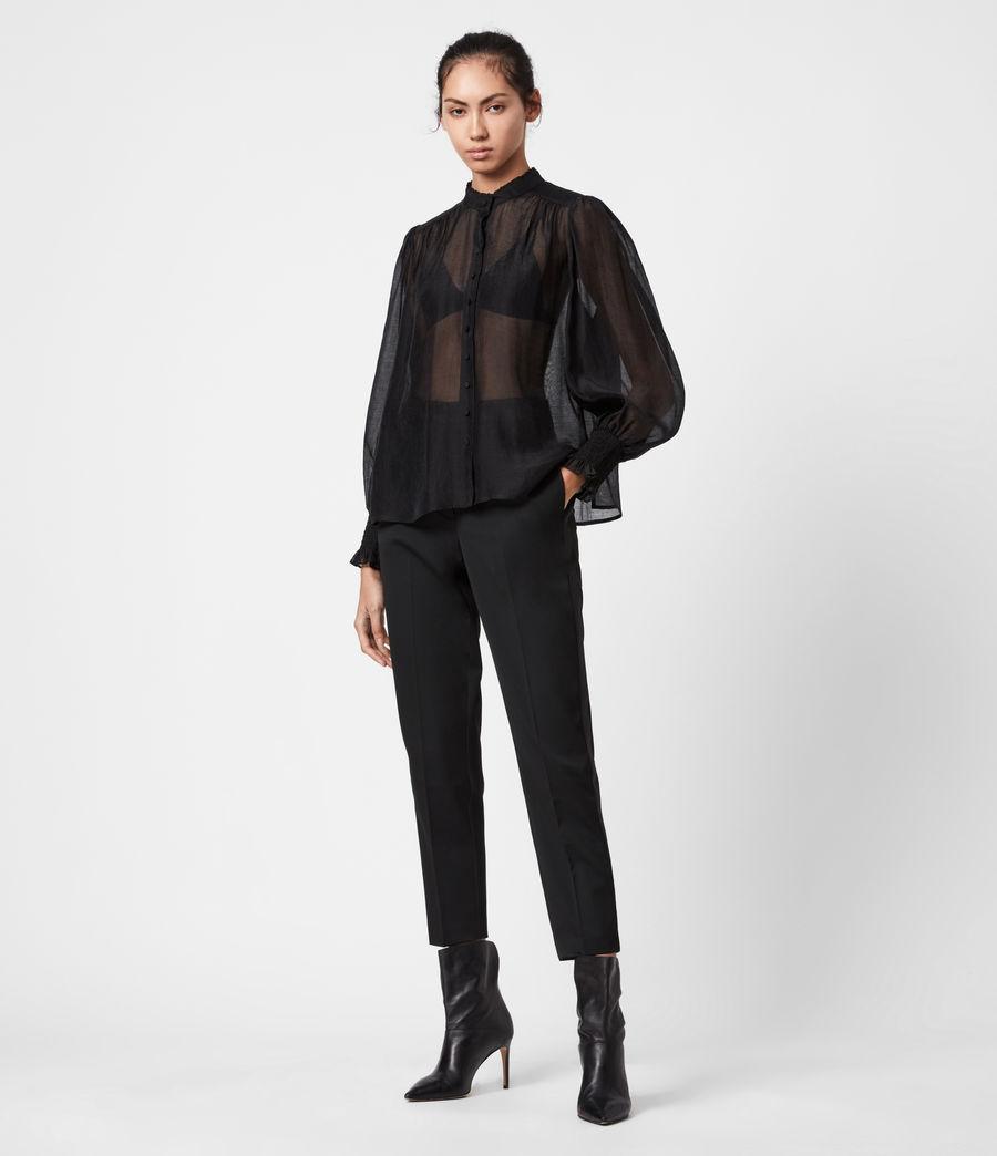 Women's Leonie Shirt (black) - Image 1