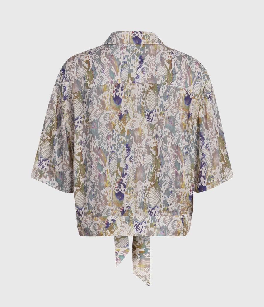 Women's Leni Masala Shirt (rainbow_blue) - Image 2