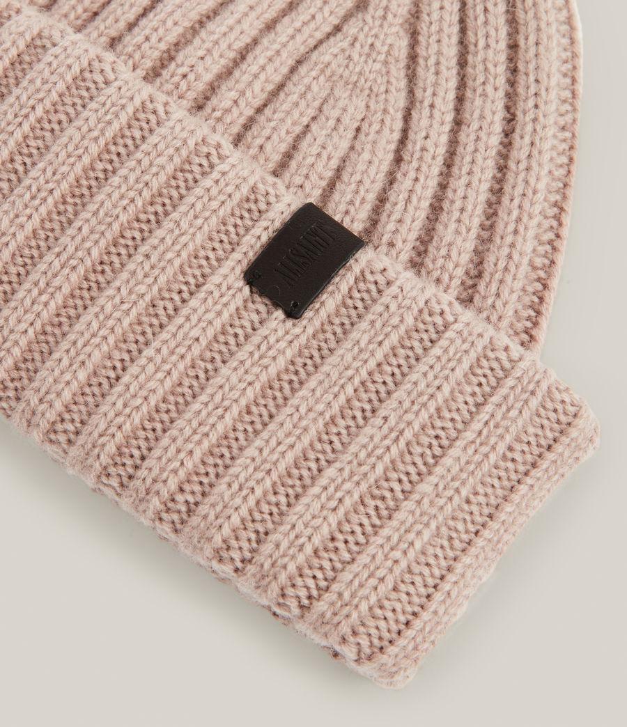 Women's Lonnie Wool Beanie (blush_pink) - Image 3
