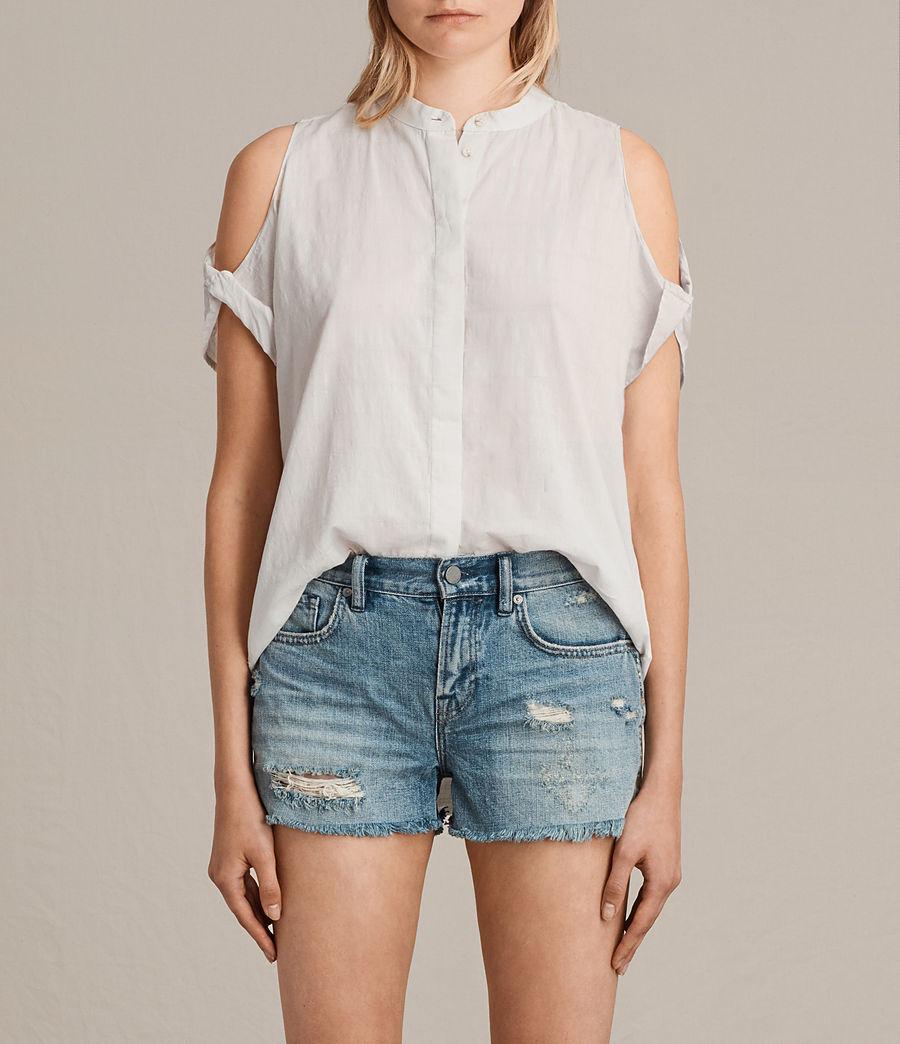 Women's Elsa Shirt (chalk_white) - Image 1
