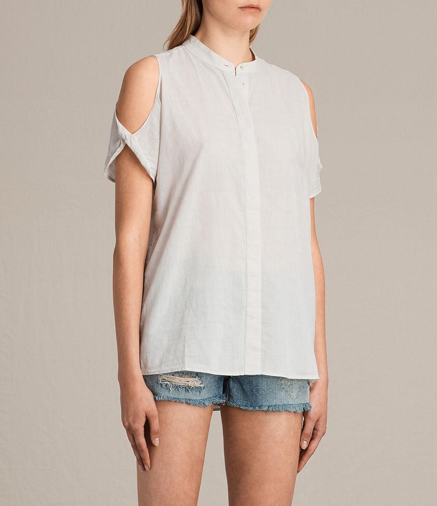 Women's Elsa Shirt (chalk_white) - Image 2