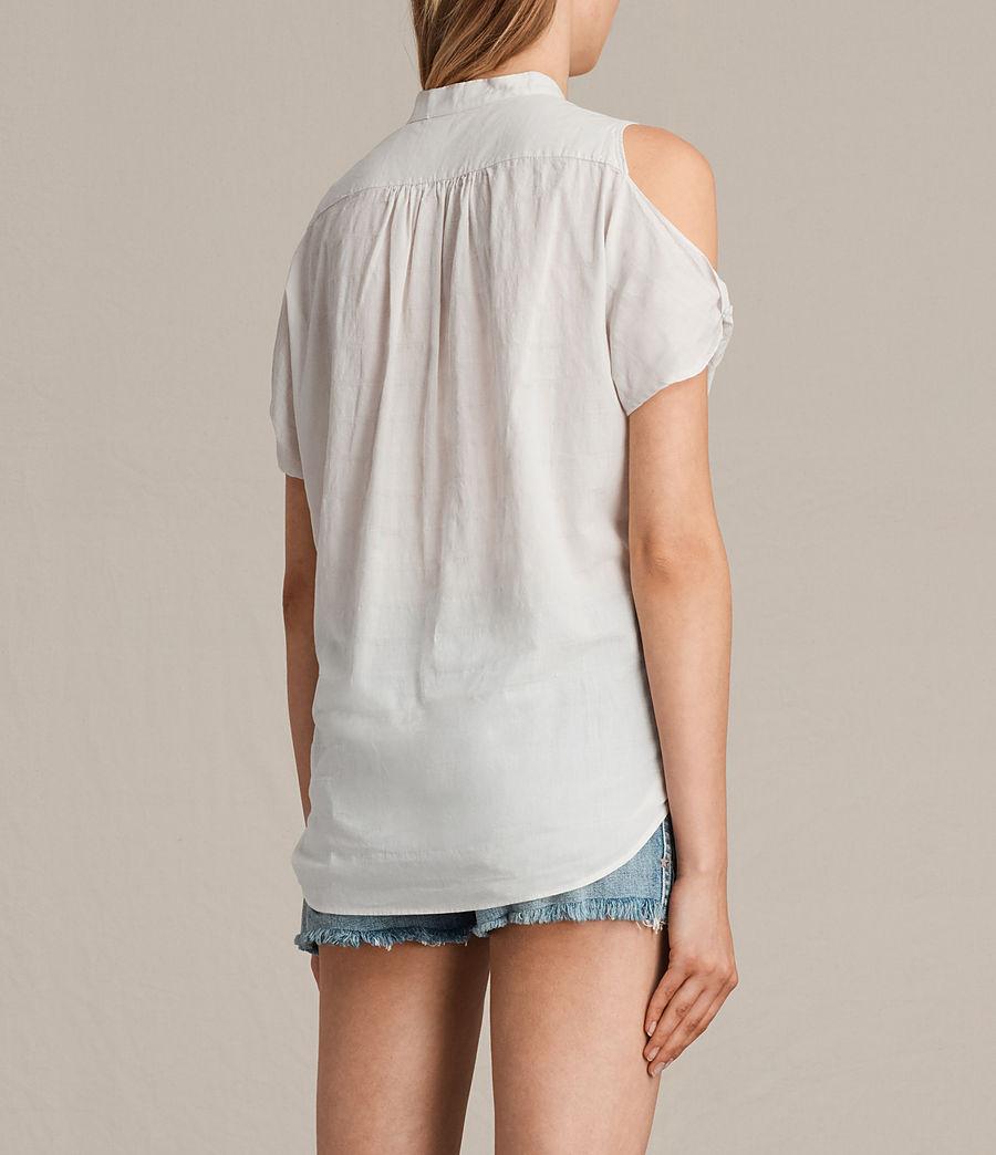 Women's Elsa Shirt (chalk_white) - Image 3