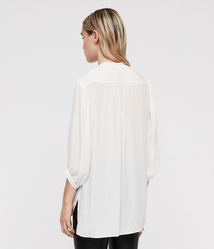 Femmes Chemise Aries (chalk_white) - Image 6