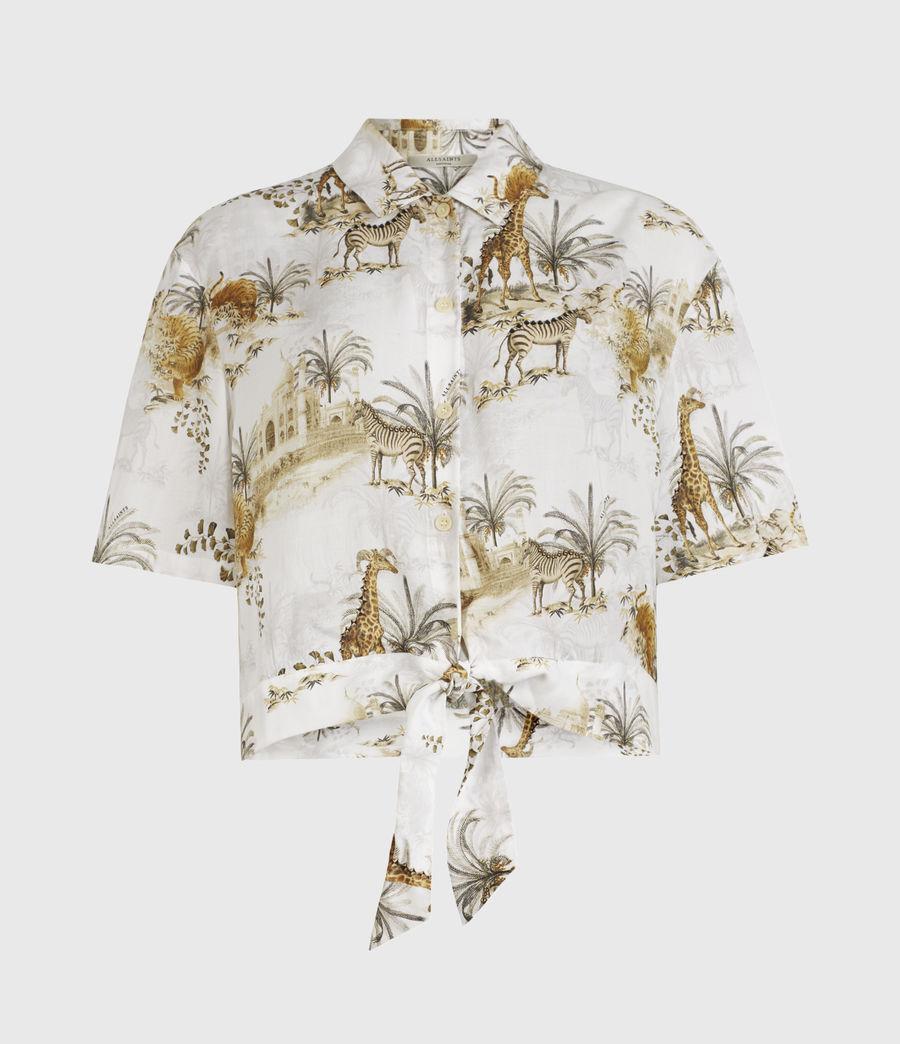 Women's Leni Tajpur Shirt (haze_white) - Image 1