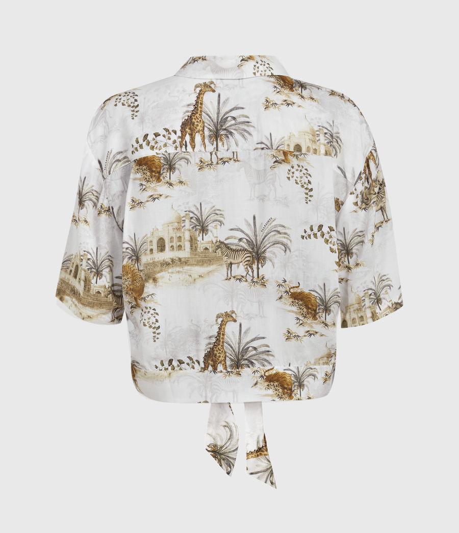 Women's Leni Tajpur Shirt (haze_white) - Image 2
