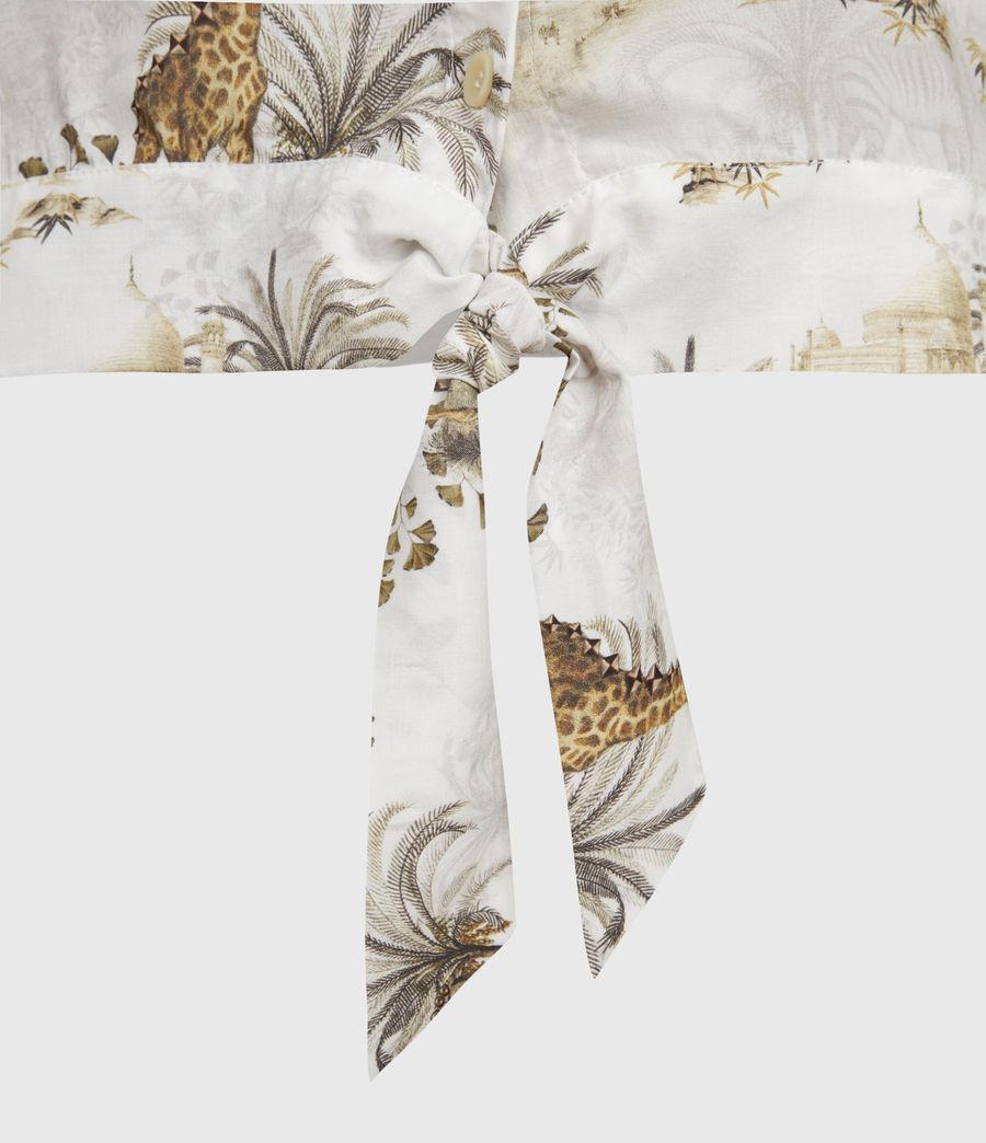 Women's Leni Tajpur Shirt (haze_white) - Image 4