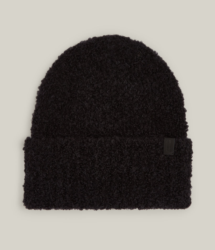 Women's Darby Beanie (black) - Image 1