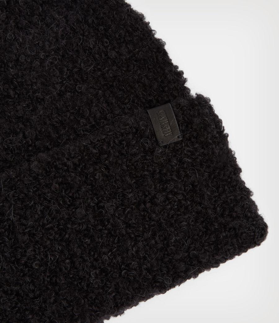 Women's Darby Beanie (black) - Image 3