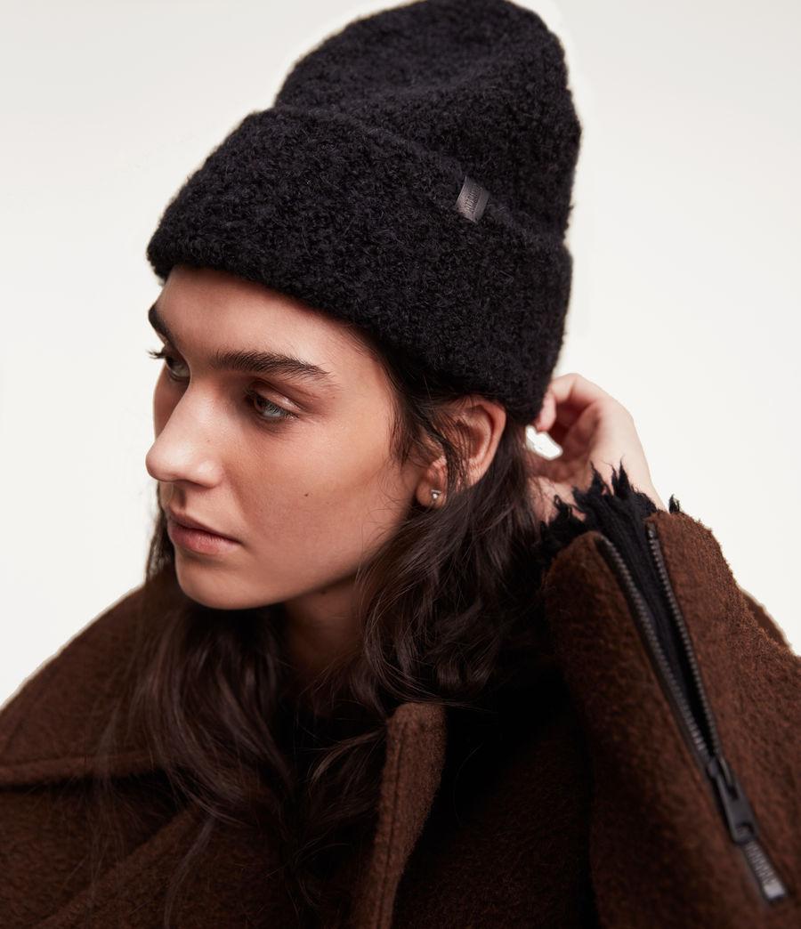 Women's Darby Beanie (black) - Image 4