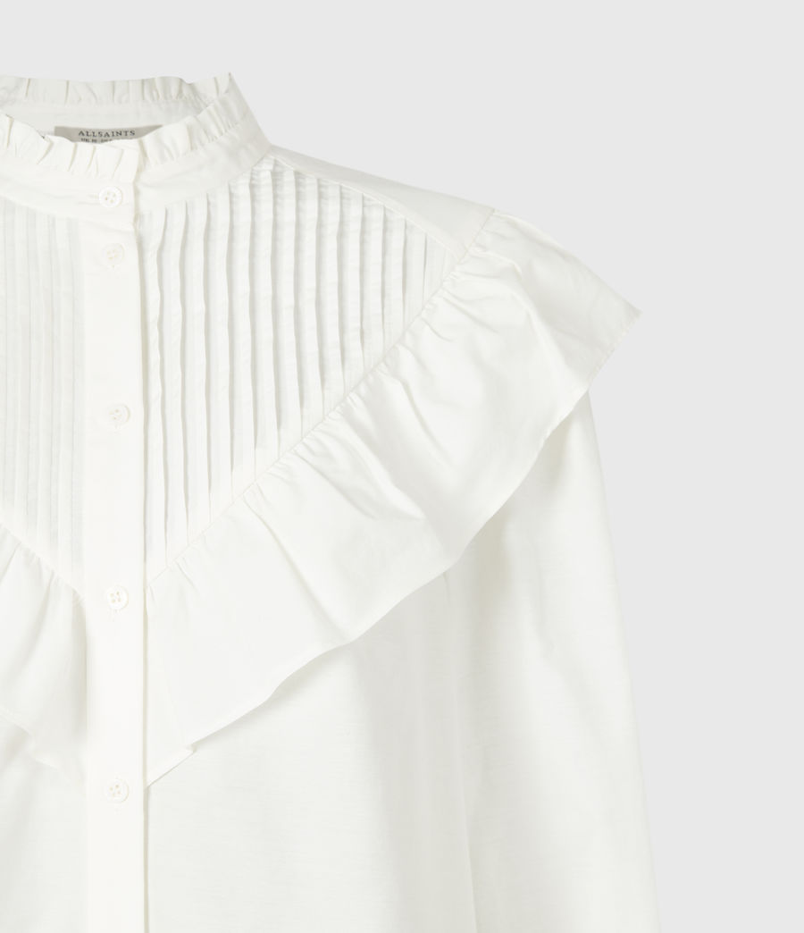Femmes Chemise à Volants Fiala (chalk_white) - Image 5