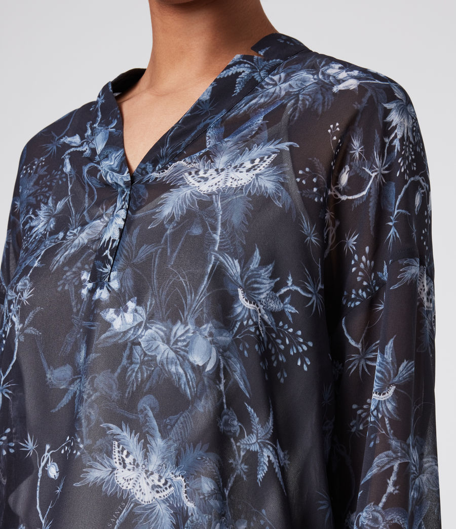 Womens Andia Evolution Shirt (navy_blue) - Image 3
