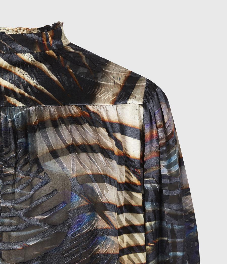 Women's Leonie Silk Blend Unison Top (black) - Image 5