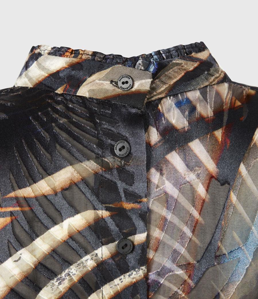 Women's Leonie Silk Blend Unison Top (black) - Image 6