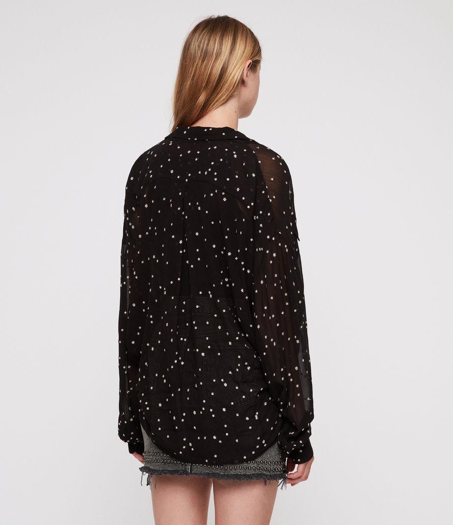 Damen Amari Star Hemd (black) - Image 5